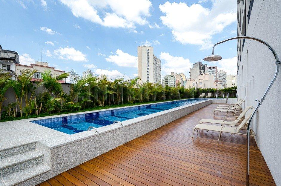 Apartamento - Rua Helvetia - Santa Cecilia - São Paulo - 100999