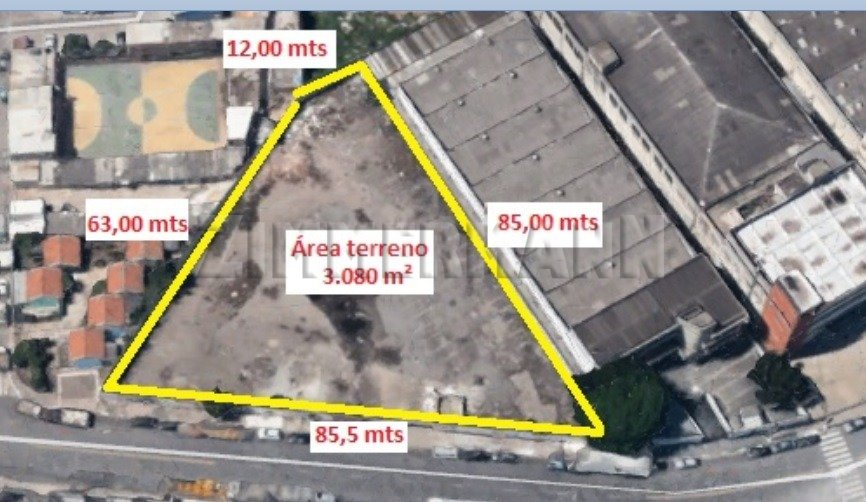 Terreno - Rua Capitao Francisco Teixeira Nogueira - Barra Funda - São Paulo - 77623