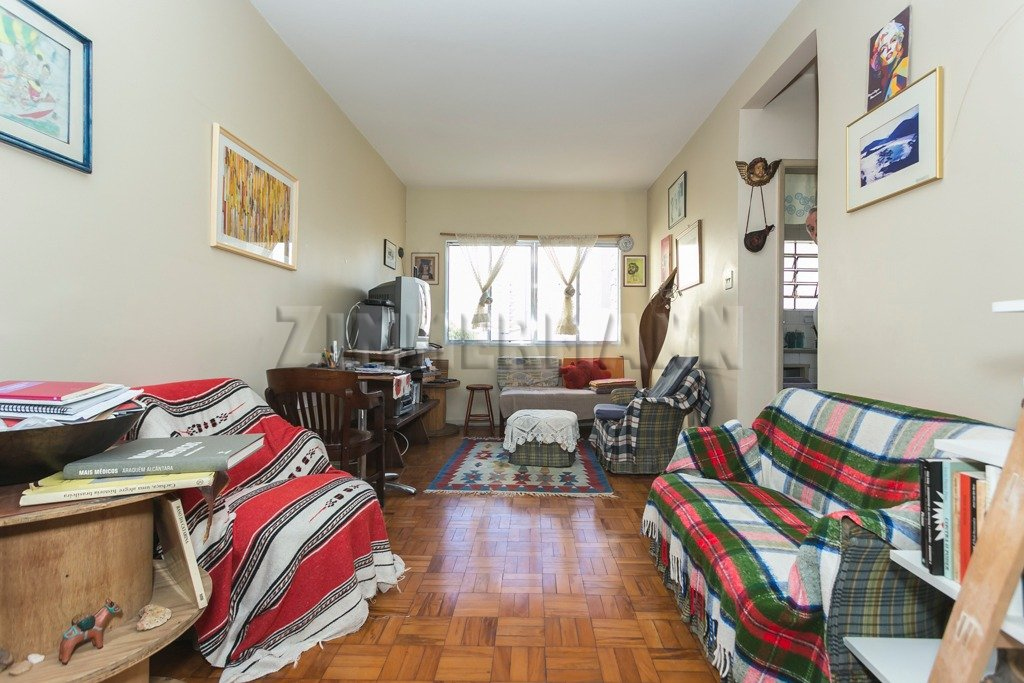 Apartamento - Rua Apinajes - Sumare - São Paulo - 89679
